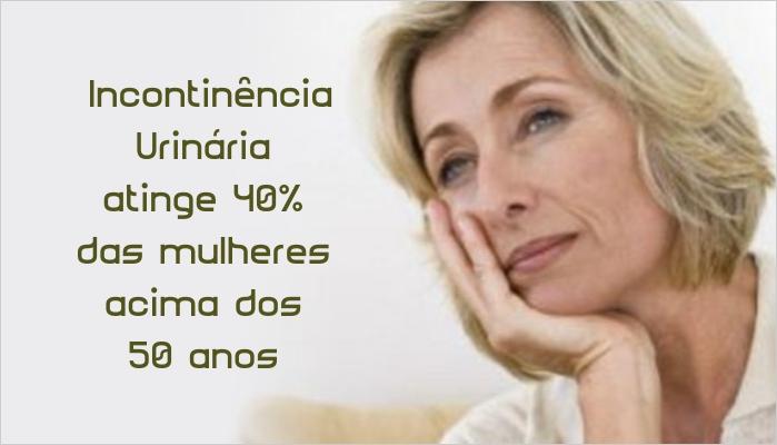 Incontinência Urinária atinge 40% das mulheres acima dos 50 anos - Gustavo Wanderley